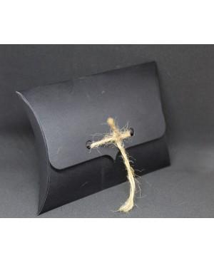 Black tied cardboard packaging